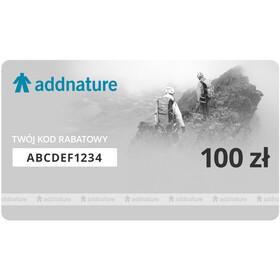 addnature Karta Upominkowa, 100 zł